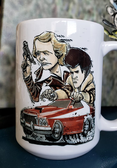 "LARGE 15oz. Mug ""Starsky and Hutch"""