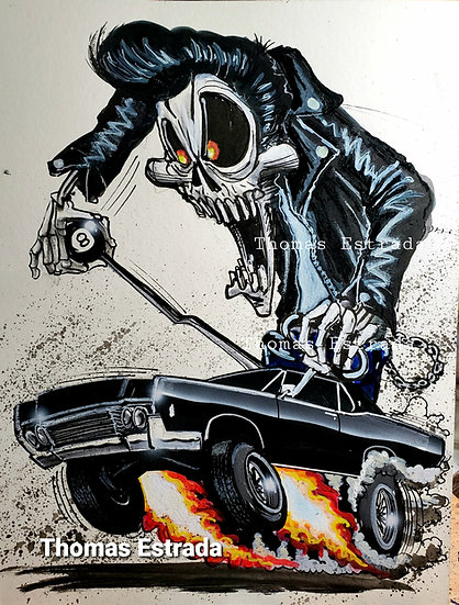Hot Rod Lincoln Print