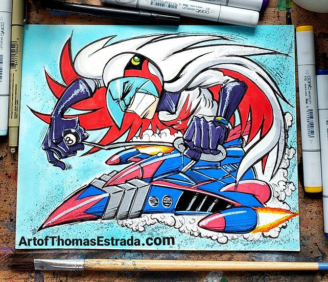 "8x10 ORIGINAL ""Phoenix Fink"""