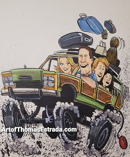 Wagon Queen Family Truckster Poster