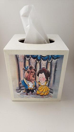 Disney Classics II Wood Tissue Box Holder