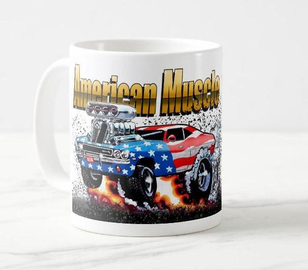 "LARGE 15oz. Mug ""American Muscle"""