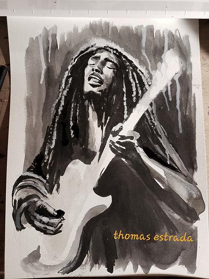 ORIGINAL 8x10 Bob Marley