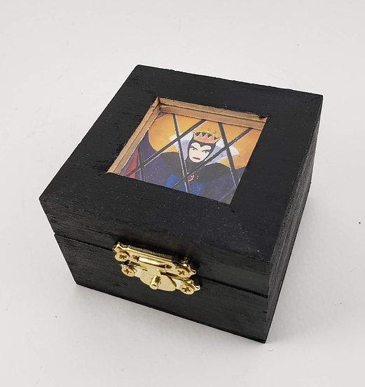Evil Queen Window Trinket Box