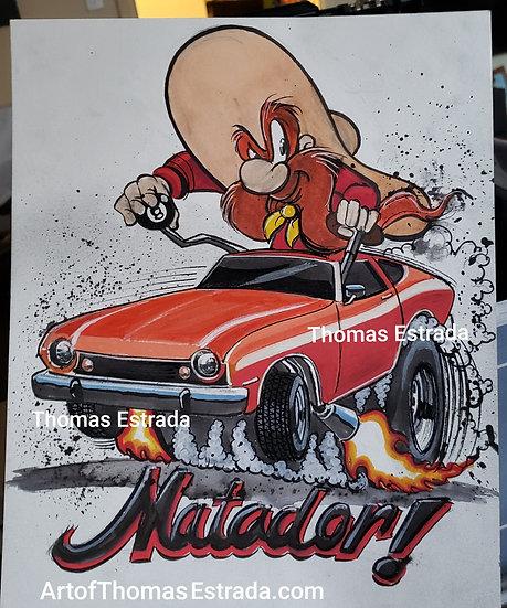 AMC Matador Print