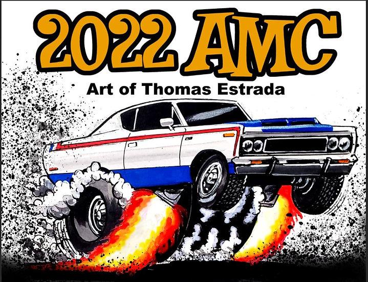 2022 AMC Hand Signed Calendar