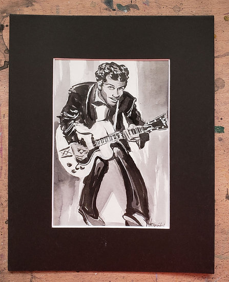 Original 5x7 Chuck Berry