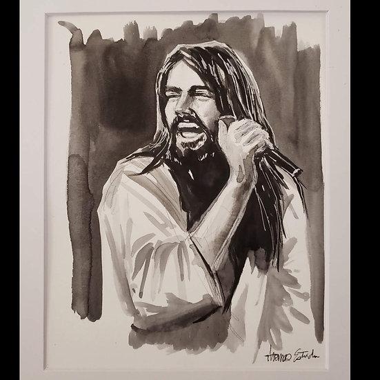 Bob Seger 8x10 ORIGINAL Illustration