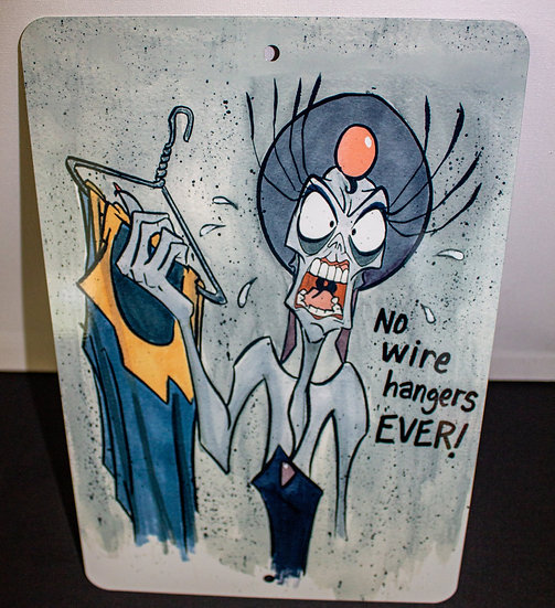 8x12 Aluminum Sign Yzma Dearest