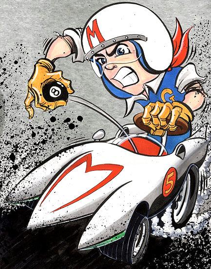 Speed Racer Print