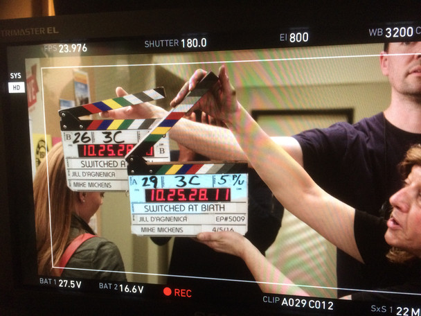 """Mickens finishes up Ep #5009 of """"Switched at Birth"""""""