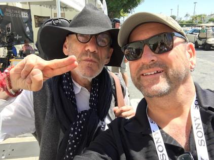 With Tony Kaye at Paramount