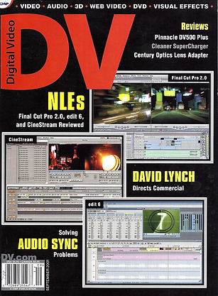 Link to DV Magazine article on Sony Playstation Commercial directed by David Lynch