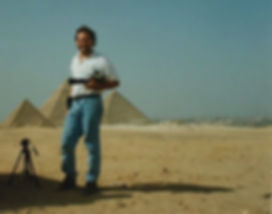 Mike Mickens in Egypt