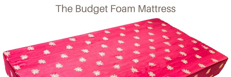 Budget Foam Mattress