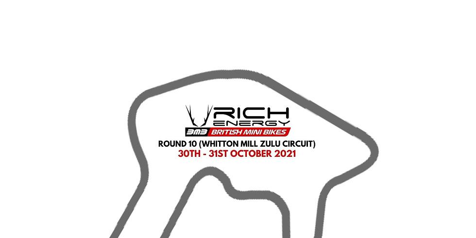 RICH Energy British Mini Bikes Round 9 (Whitton Mill Zulu Circuit)