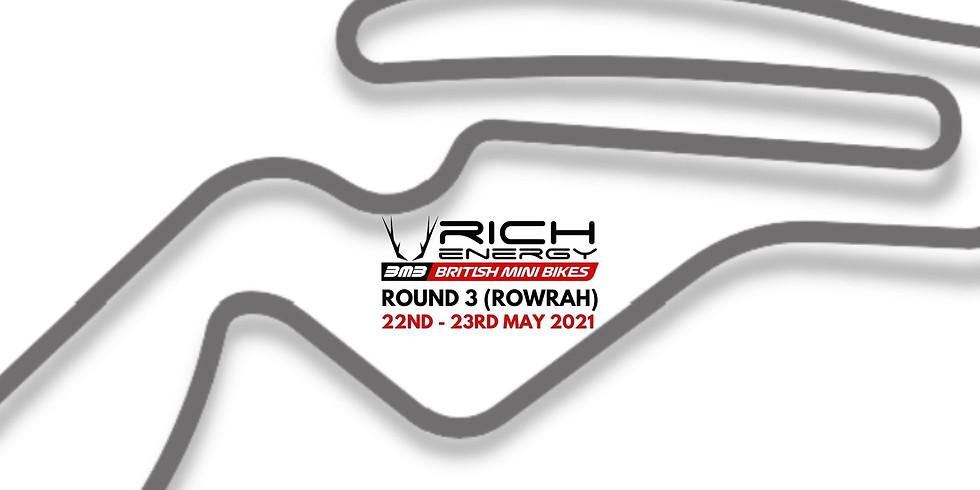 RICH Energy British Mini Bikes Round 3 (Rowrah)