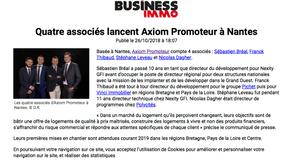 Axiom Promoteur dans le Business Immo