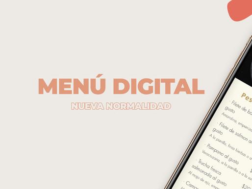 Porque hacerte de un Menú Digital