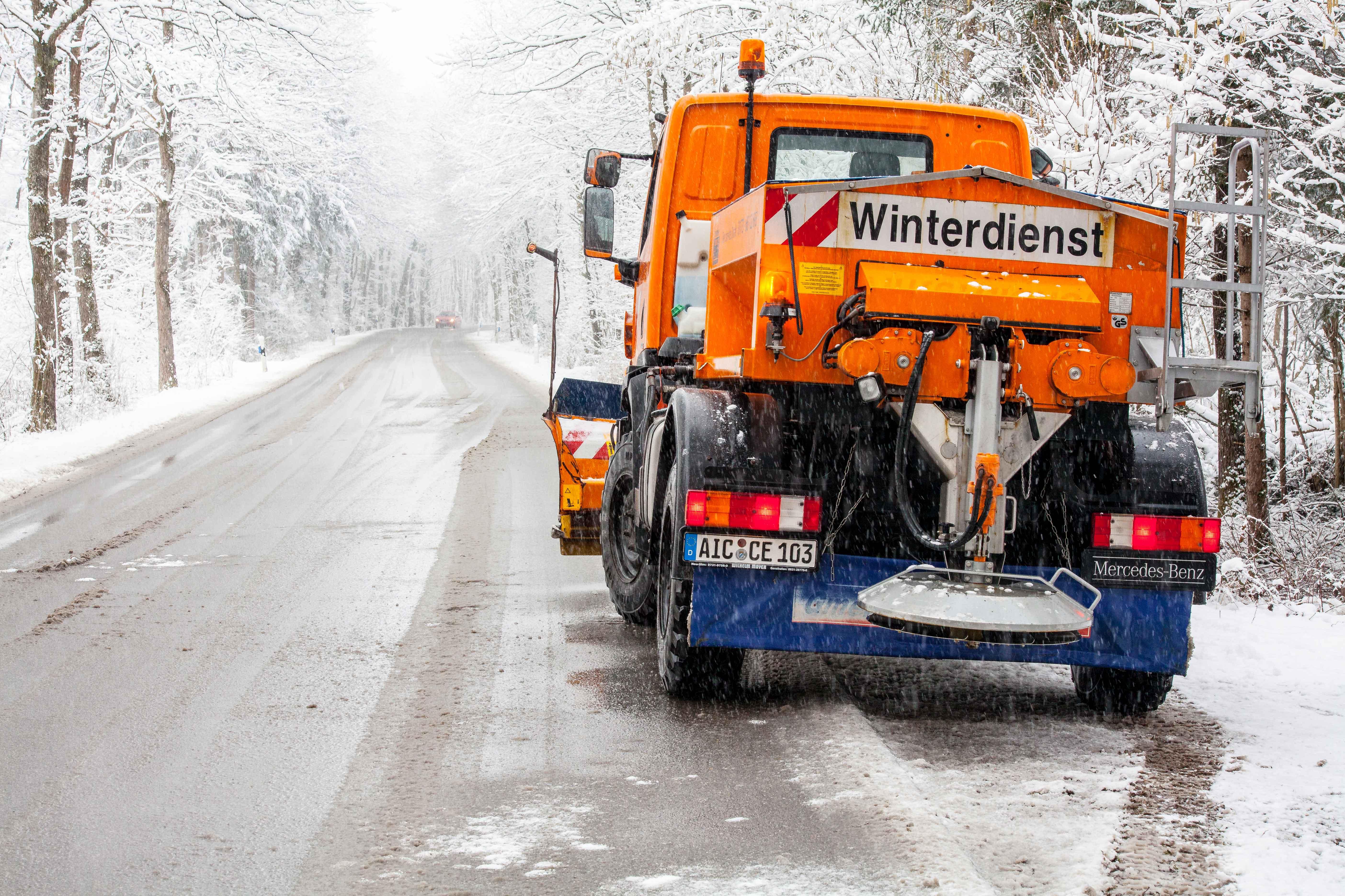 Hausmeisterservice Winterdienst