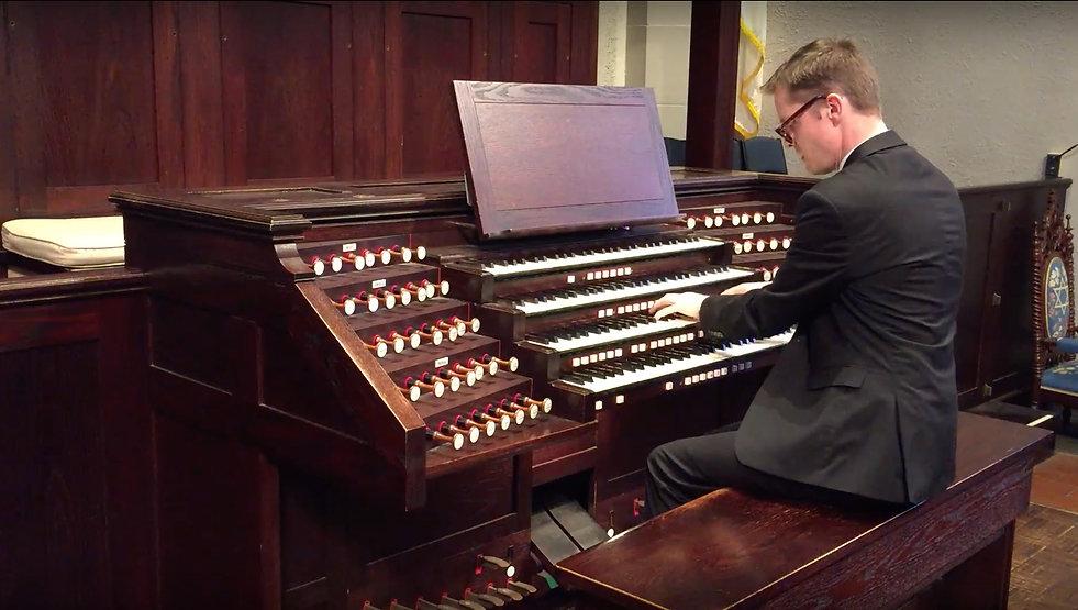 Stephen Z. Cook, Concert Organist