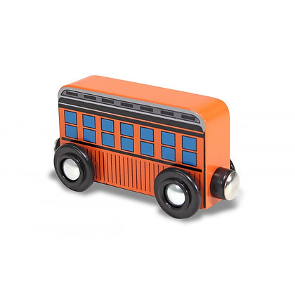 Orange Passenger Car