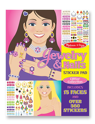 Sticker Pad: Jewelry & Nails