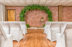 Chairs & Archway