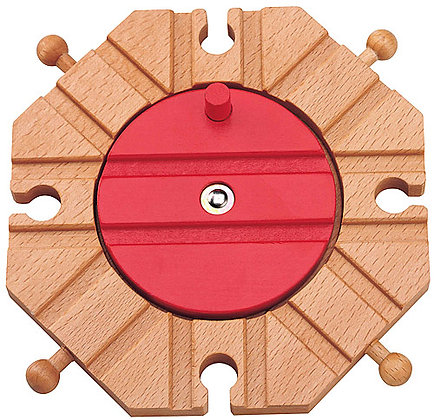 Wooden 8 Direction Turntable