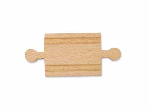 "2"" Wooden Straight Track: Male-Male"