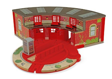 Roundhouse & Turntable Set