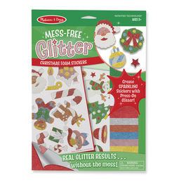 Mess Free Glitter Christmas Stickers