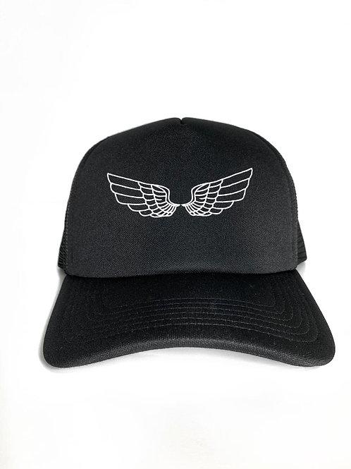 Boné Fly Trucker | Preto
