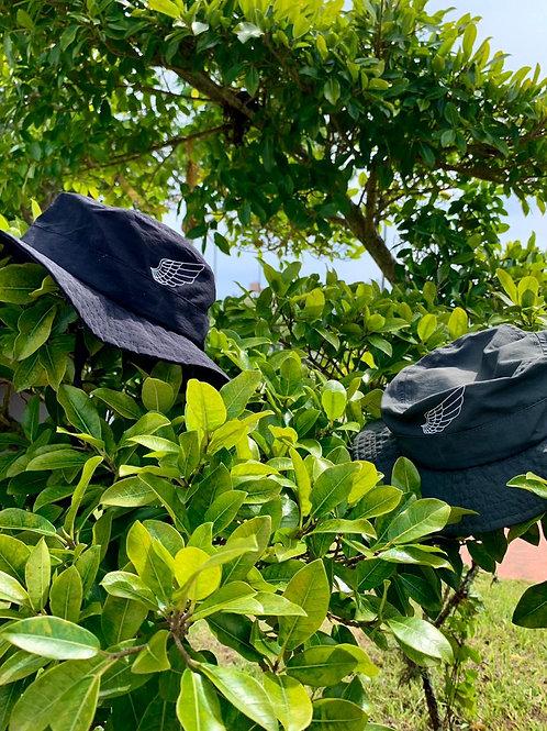 Chapéu Australiano | Preto/Verde