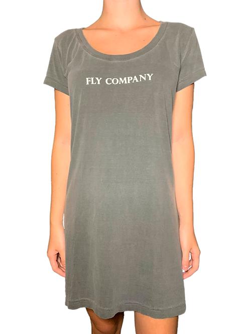 Vestido fem. Fly Company | Cinza