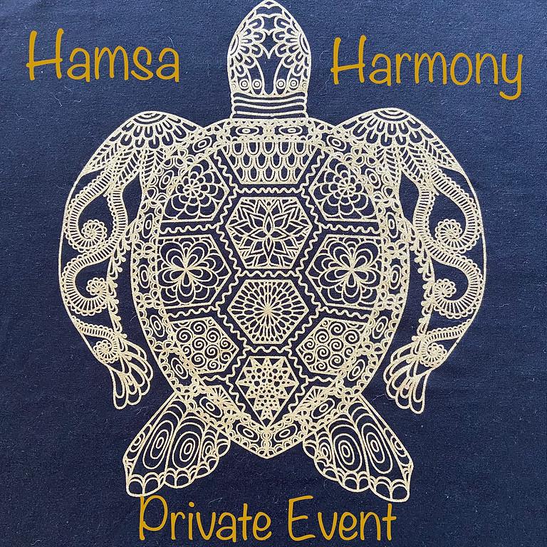 Hamsa Harmony Private Event