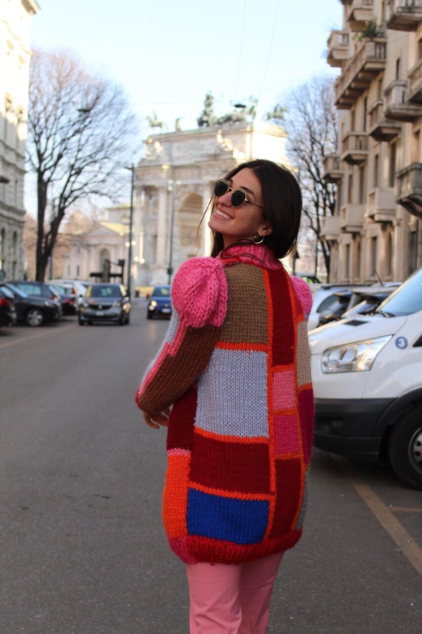Milano contemporary knitwear