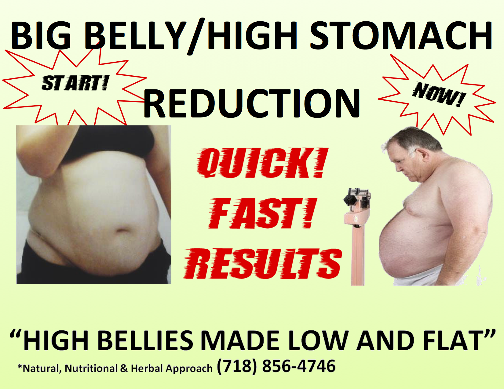 BIG BELLY REDUCTION