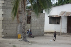Visiting the slums