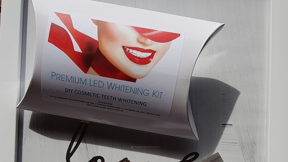 Boxed DIY Premium Teeth Whitening Kit