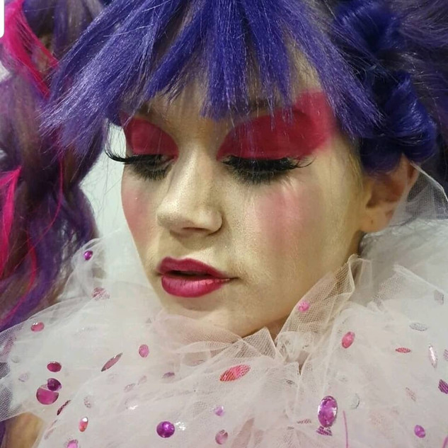 Creative Makeup Living Doll