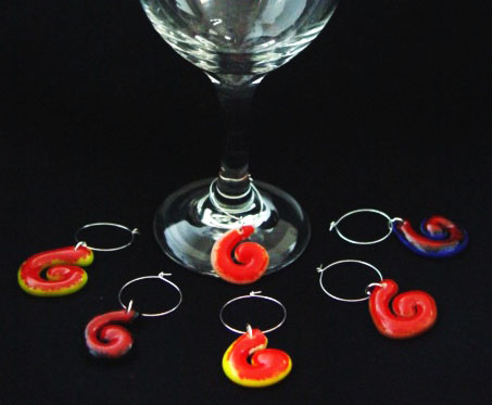 wine charms-swirl