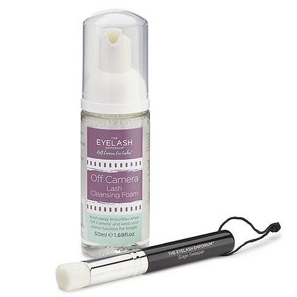 The Eyelash Emporium™ Lash Cleansing Set - (Lash Foam Cleanser & Brush)