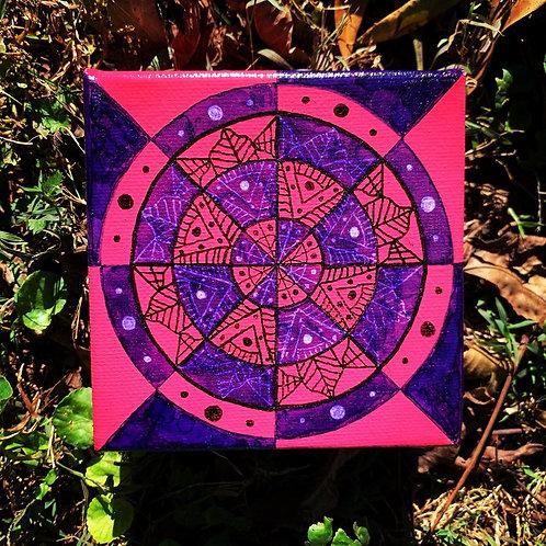 Pink/Purple Mandala