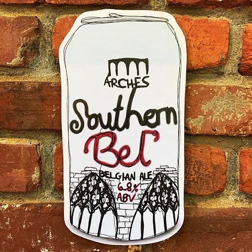 Southern Bel' Woodcut