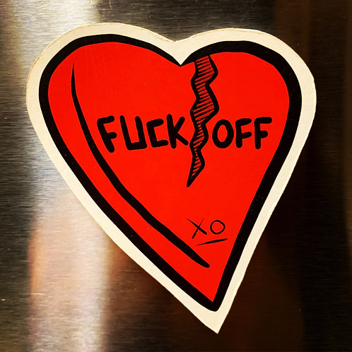 Fuck Off Magnet
