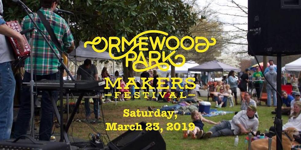 Ormewood Park Makers Festival