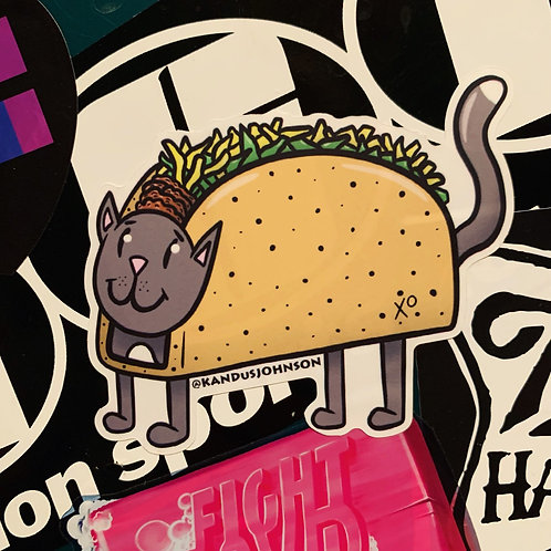 TacocaT Stickers