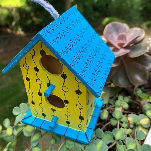 Yellow Birdhouse