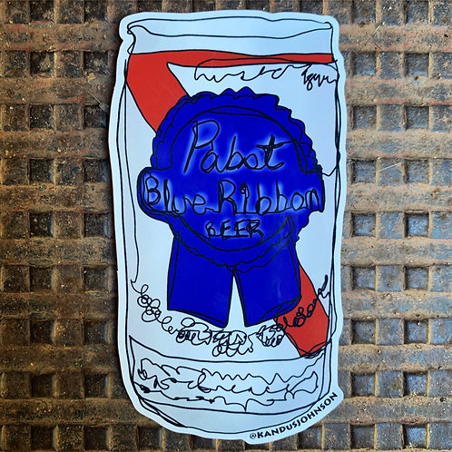 PBR Sticker